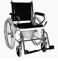Туалетный кресло-стул активно-пассивного типа